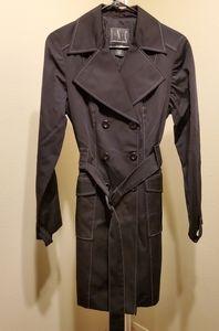 Womens INC Black trenchcoat/jacket size medium